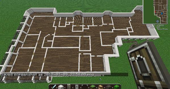 Deluxe mansion minecraft project minecraft ideas for Minecraft mansion blueprints