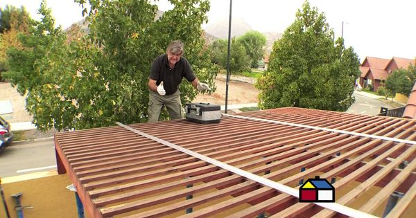 C mo instalar un techo de policarbonato pinteres - Como instalar un techo de policarbonato ...