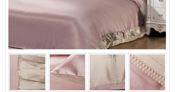 Chic French Ruffles Brim Three-piece Bedding Set