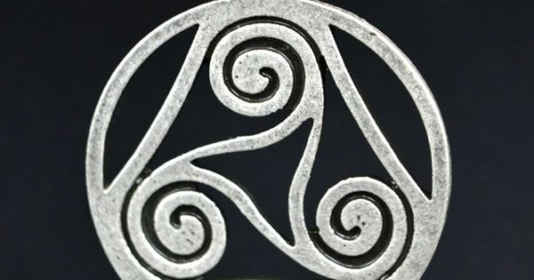 the triskele or triple spiral is an ancient celtic