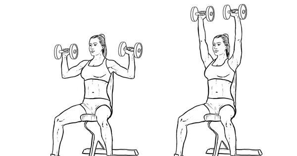 shoulder dumbell press