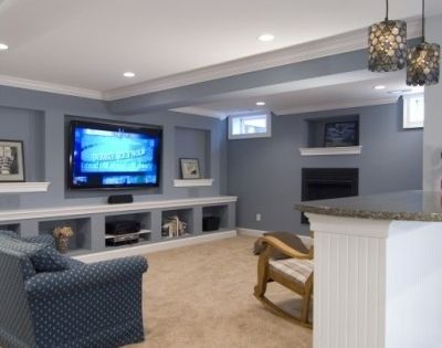 Small Basement Remodeling Ideas - new basement color?
