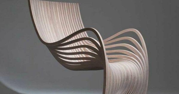 Außergewöhnlich Designer Stuhl Holz Interessante Form Innovativ | Küche Ideen | Pinterest |  Design And UX/UI Designer