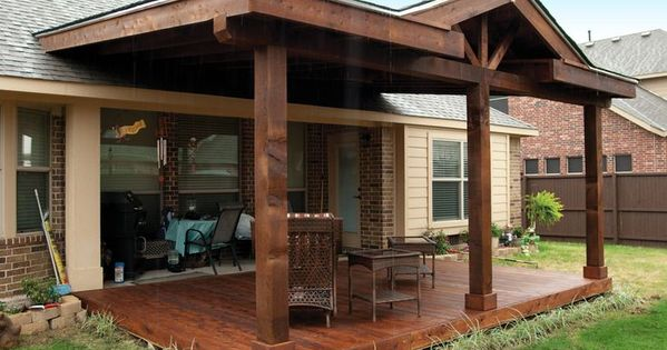 Patio Covers Attached To Existing Roof Google Search