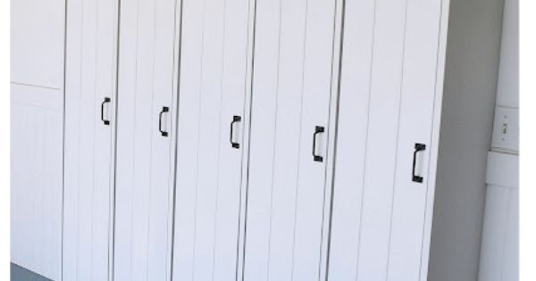 Chalkboard Blue: Vintage Pottery Barn Lockers