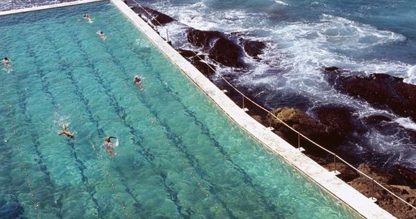 Ocean Pool at Bondi Icebergs Club, Sydney, Australia