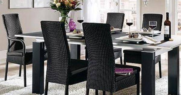 Sala comedor decoraci n con muebles de rattan que han for Diseno de interiores y exteriores