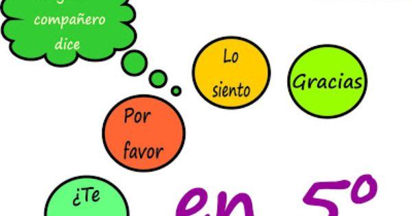 Blogicmates Los Circulos Y La Buena Educacion Educacion Educacion Primaria Decir Lo Siento