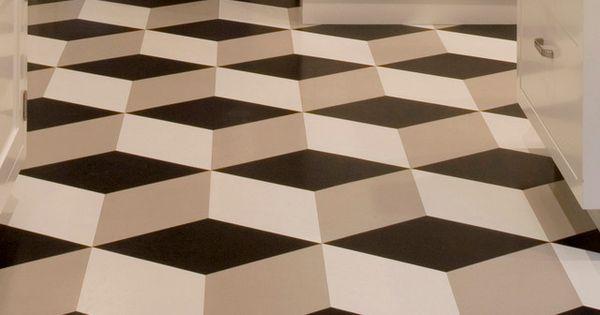 Modern vinyl flooring designs flooring wiki geometric for Modern linoleum flooring