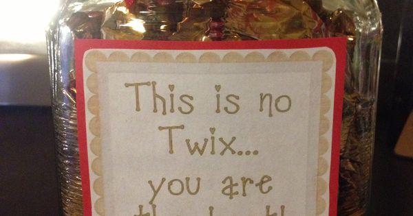Valentine's Day Twix Candy Jar | My Creations | Pinterest ...