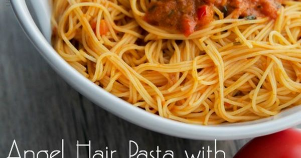 Angel Hair Pasta With Spicy Vodka Sauce Recipes — Dishmaps
