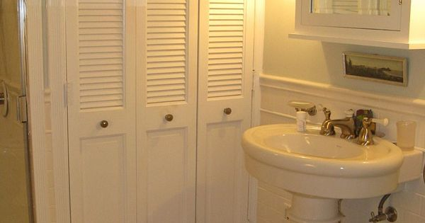 Master Bath Medicine Cabinet Restoration Hardware Floor Almond Mauve