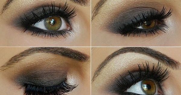 How to easily create beautiful smokey eyes with Smokey Taupe Eyeshadow