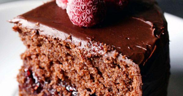 CHOCOLATE CAKE (WITH SACHER TORTE VARIATION AND CHOCOLATE GANACHE ...
