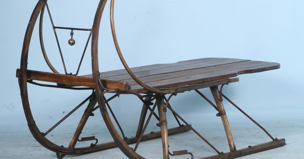 Whimsical antique sleigh coffee table antiques photos and vintage Antique sleigh coffee table
