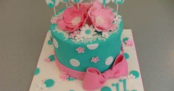 Cake Ideas For 10 Year Old Girl Fondant Cakes Birthday Girl Cakes Cool Birthday Cakes