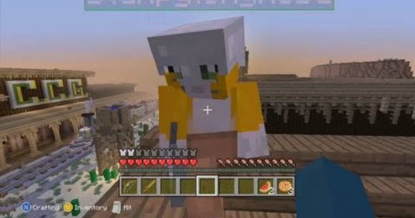 Pin On Minecraft Mania: Stampylongnose: Lady And The Stampy Hunger