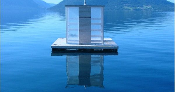 Floating Sauna / Sami Rintala, or part of my dream home, anyway!
