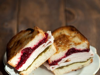 turkey cranberry green chile sandwich recipe | use real ...