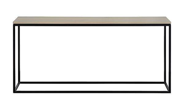 Eettafel Ferrum, naturel/zwart, L 160 cm  TABLE  Pinterest
