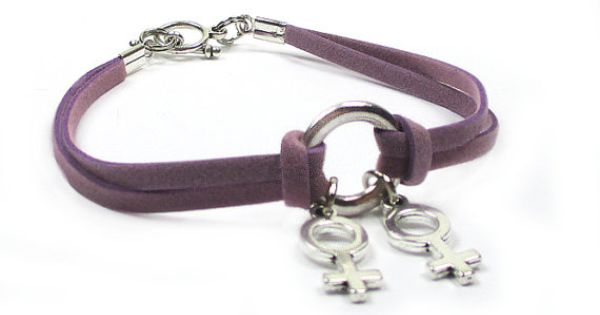 Lesbian charm bracelets