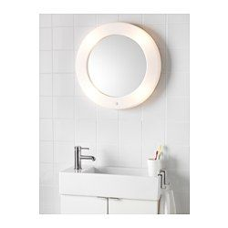 Us Furniture And Home Furnishings Ikea Round Mirror Bathroom Mirror With Built In Lights