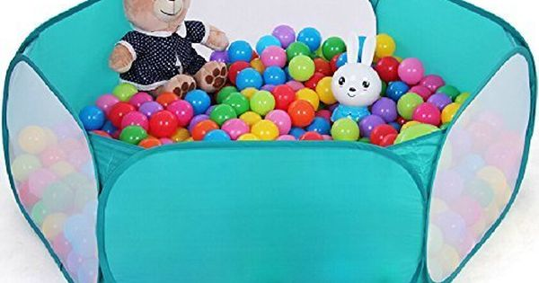 Zelesouris kids pop up ball pit play baby ball pool garden for Pop up garten pool