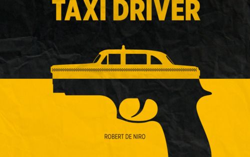 johnnybravo20: Taxi Driver minimalist poster (by Bruce Yan)