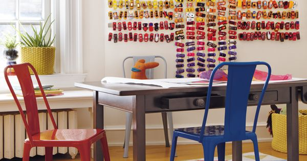 knife magnet strips + matchbox cars! kid toy storage - landofnod.com