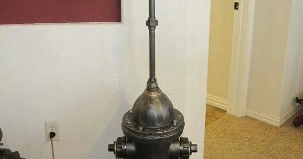 1960 Mueller Fire Hydrant Lamp Firefighting Pinterest