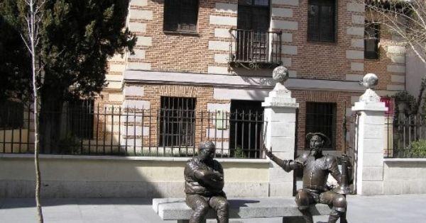 Diez Casas De Escritores Las Lecturas De Mr Davidmore Madrid Don Quixote Miguel De Cervantes
