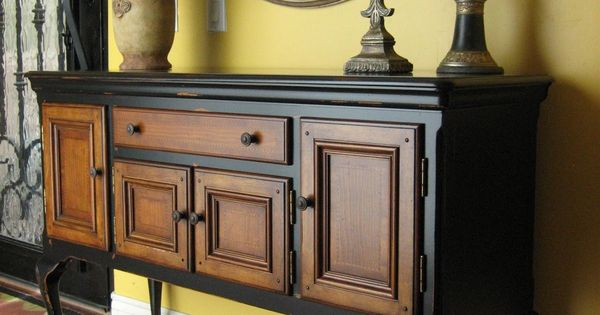 Gorgeous way to redo an old buffet - Other European Paint Finishes