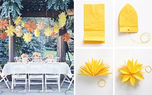 Hello Paper Crafts Paper Bag Flowers Paper Decorations