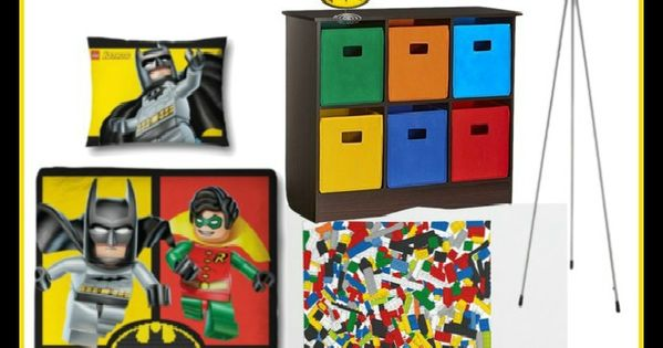 Room 2 Build Bedroom Kids Lego: Lego Batman Boys Bedroom Ideas