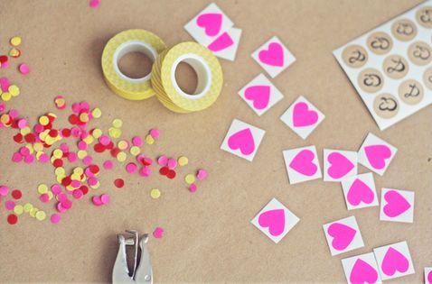 Confetti cards!
