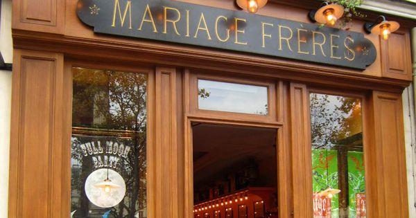 Mariage freres maison le marias 30 rue du bourg tibourg for Maisons de the mariage freres