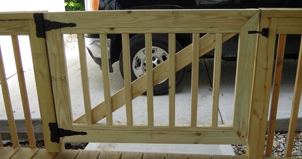 Deck Gates Need A Gate We Build Gates Need The Gate