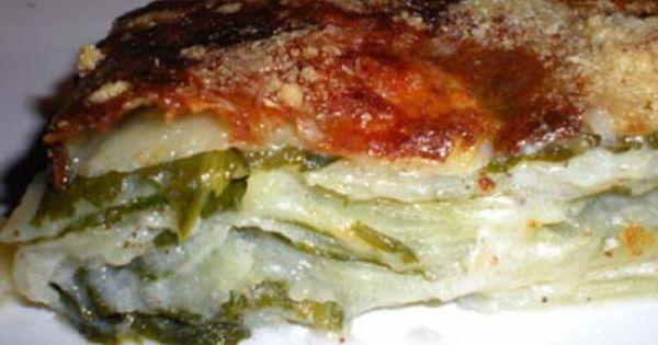 Cuisine sauvage gratin de pommes de terre l 39 ail des for Ail sauvage cuisine