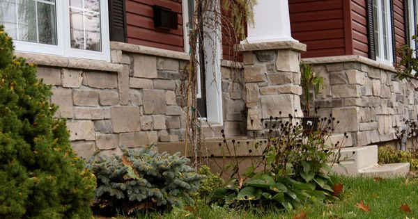 Stone Over Brick Exterior Home Csc Natural Stone Veneer