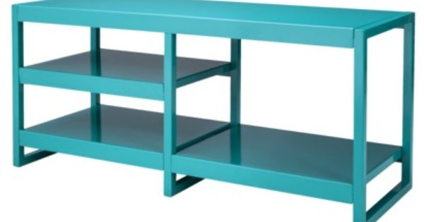 Calhoun TV Stand - Teal : Furniture and Design : Pinterest : Teal, Tv stands and Living rooms