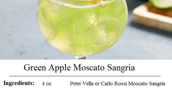 Olive Garden 39 S Green Apple Moscato Sangria Recipe Food Pinterest Moscato Sangria Sangria