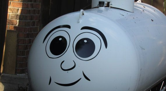 Dress Up Your Boring Propane Tank With Our Funny Face