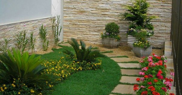 Patios peque os jardin pinterest minis y patio - Patios jardines pequenos ...