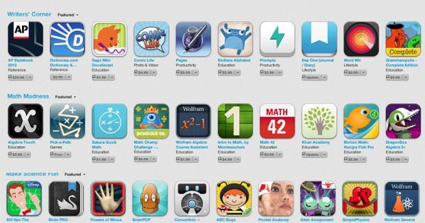 The 70 Best Apps For Teachers And Students _Thanks! @Edudemic Edudemic |