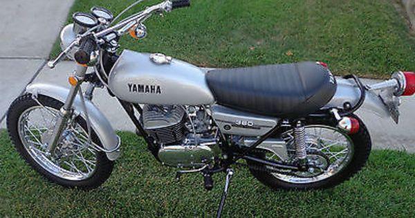 Yamaha Other Yamaha Vintage Bikes Enduro Motorcycle