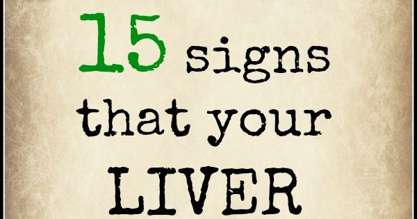 Do You Need A Detox 15 Signs Your Liver Is Stressed Detox