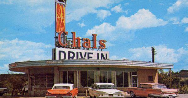 Drive In Restaurant Cambridge Ohio 1950 S Car Hops