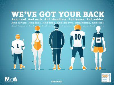 National Athletic Training Month Atletisk träning  Athletic training