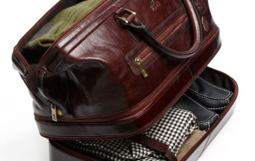 The PERFECT weekend bag - Indiana Leather Adventure Duffel