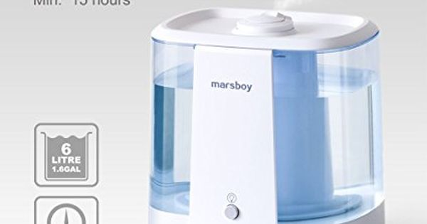 Amazon Com Ultrasonic Cool And Warm Mist Humidifiers Marsboy 6l 1 6 Gal Anti Mold Aroma Living Room Humidifier Best Whole House Humidifier Room Humidifier